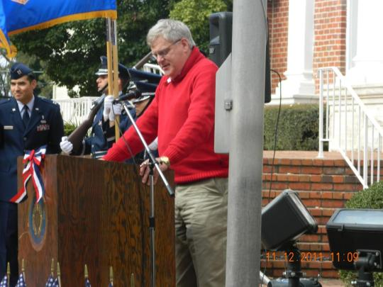Keynote speaker, Congressman Alan Nunnelee