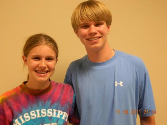 Heath and Haley Marie Fisackerly~~~Both Big Supporters of Forrest Allgood
