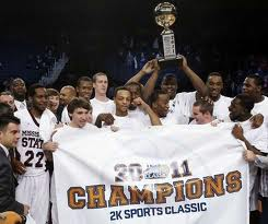Mississippi State Bulldogs, 2011 2K Sports Classic Champions