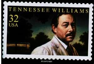 Tennessee Williams stamp
