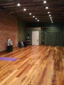 Bliss Yoga Studio Floor