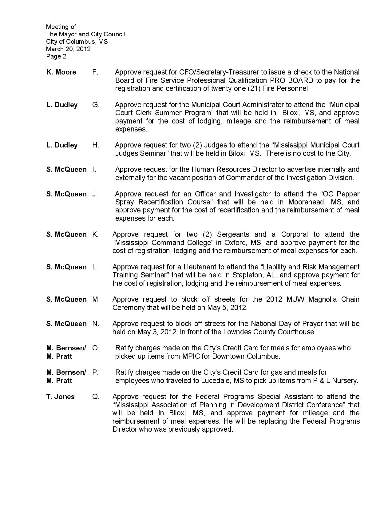 Columbus city council meeting agenda for april 17 2012 special 1betcityfo Choice Image